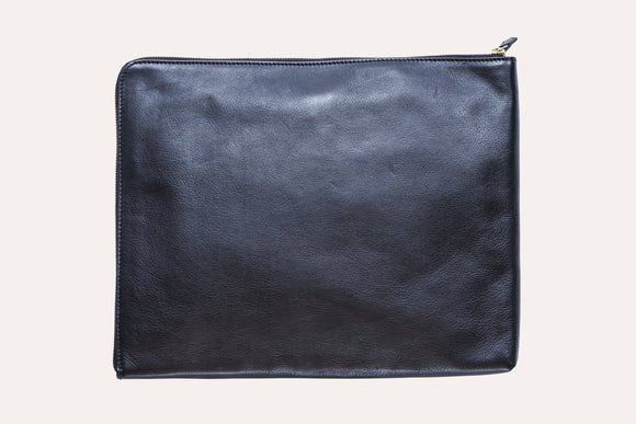 Leather Tech-Folio (holds 13