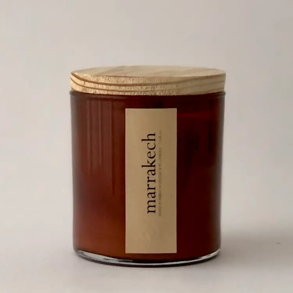 Marrakech Scented Soy Candle