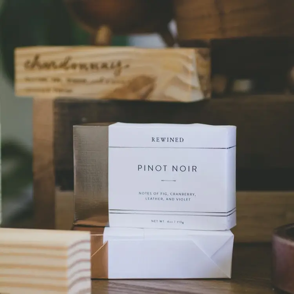 Pinot Noire Milled Soap - 6 Bars