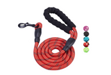 5 FT Leash With Padded Handle and Reflective Threads