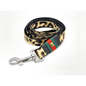Anubis leopard dog leash