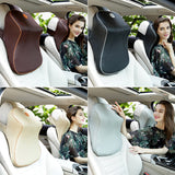 HOT Product! - Memory Foam and Vegan Leather Car Neck Rest - 4 Colors