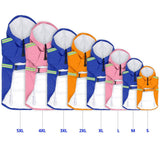 Waterproof Raincoat Sizes Small to 5xXL - 5 Colors