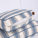Classic Striped Oxford Pet Bed in 3 Sizes