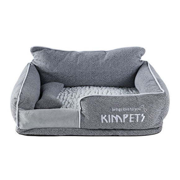 Oh So Chic!  Removable Oxford Cotton Cloth Pet Bed