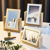 "Wood Picture Frame 4 x 6"" and 5 x 7"""