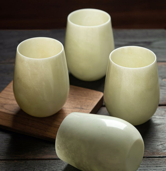12 oz. Chinese Jade (Wine) Cup, Set of 2