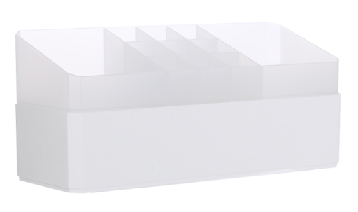 Dual-Layer Desktop Storage Box