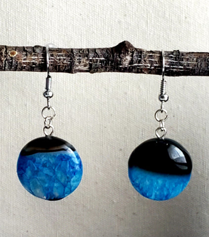 Genuine Onyx Agate Dangles