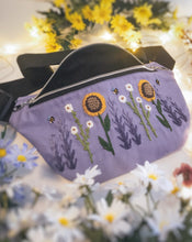 Load image into Gallery viewer, Floral Waist Bag - Light Purple