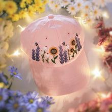 Load image into Gallery viewer, Pink Floral Garden Cap