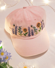 Load image into Gallery viewer, Pink Floral Cap