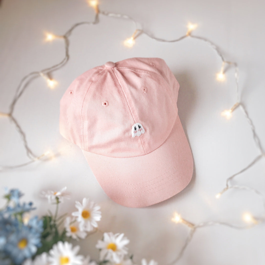 Pink Blushing Ghostie Cap