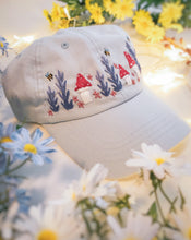 Load image into Gallery viewer, Blue Floral Cap