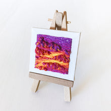 "Load image into Gallery viewer, ""That night, the sky was on fire.."" Micro Landscape"