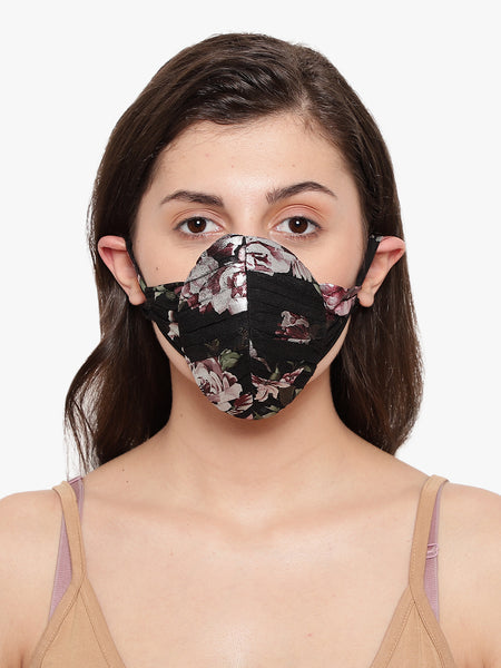 Womens mask, womens face mask, Stylish masks, N95 mask, Fashionable masks, face mask, embellished masks, Designer mask, COVID masks, Covid 19 masks, coronavirus mask, corona mask, Anti pollution, Anti Dust, Reusable Face mask,, Printed Mask, floral printed mask