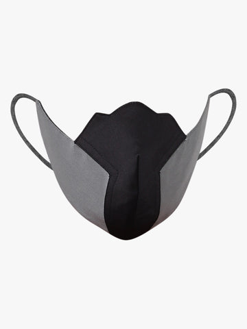 Men's Two-Tone Fashionable Reusable Face Mask - Anti Dust / Anti pollution