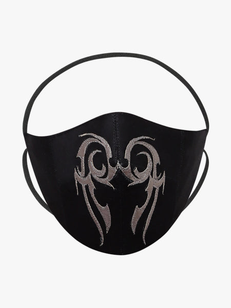 Unisex Applique Reusable Face Mask - Anti Dust / Anti Pollution