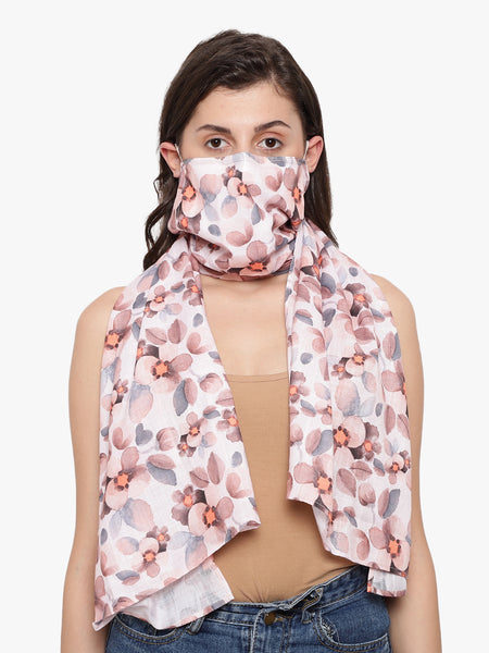 Women's Reusable Scarf Face Mask - Anti Dust / Anti Pollution