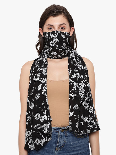 Womens mask, womens face mask, Stylish masks, N95 mask, Fashionable masks, face mask, embellished masks, Designer mask, COVID masks, Covid 19 masks, coronavirus mask, corona mask, Anti pollution, Anti Dust, Reusable Face mask,, Printed Mask, floral printed mask, Scarf mask, womens scarf mask