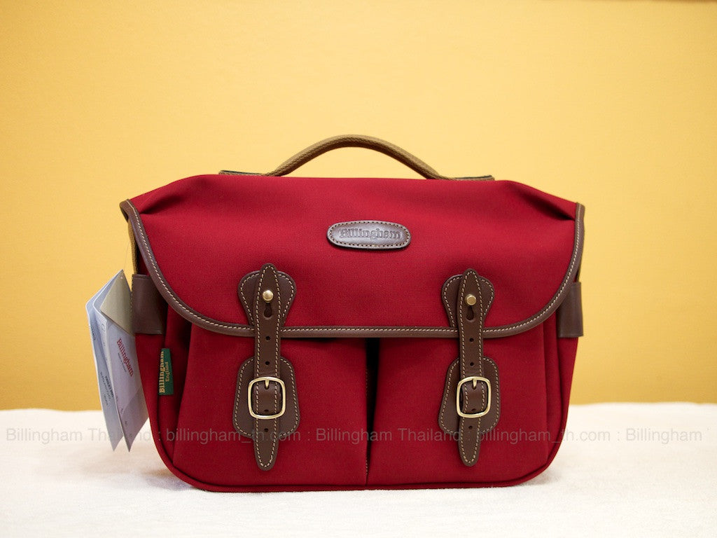 กระเป๋ากล้อง Hadley Pro Burgundy (Limited Edition) by Billingham Thailand