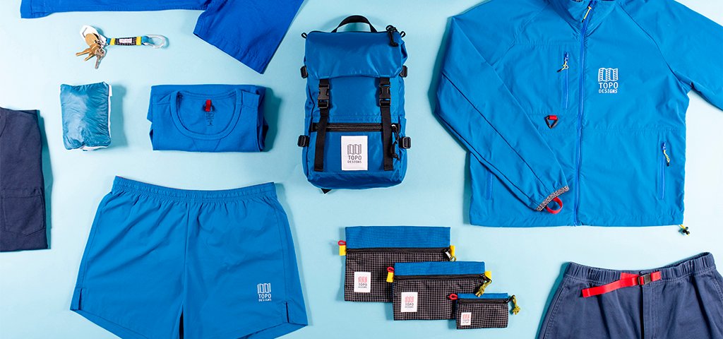 Topo Designs Bags, Travel Accessories & Clothing