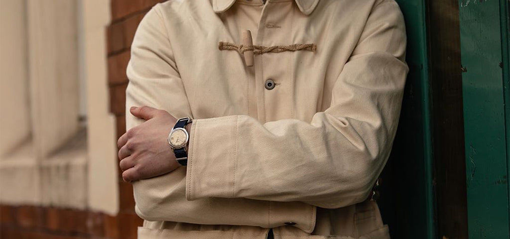 Ullac x Gloverall Jacket Colour Cream