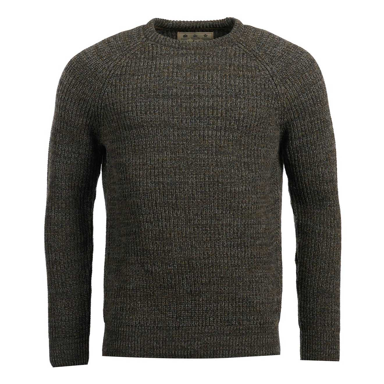 Barbour Horseford Crew Knitwear Olive