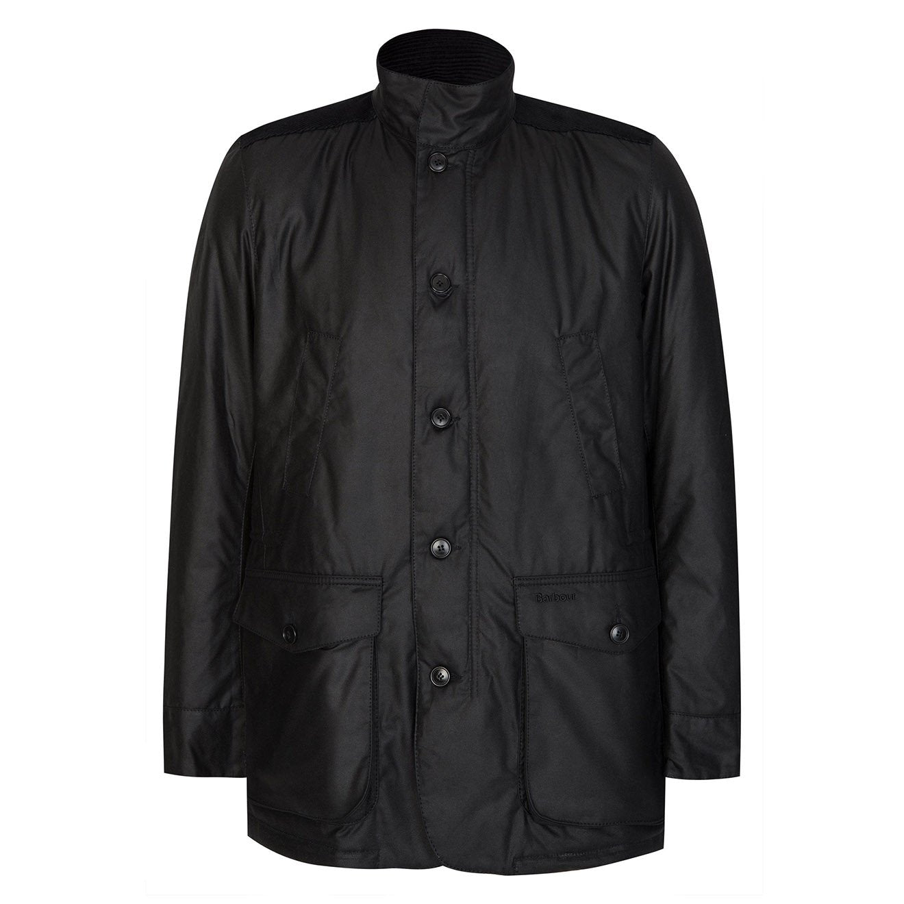Barbour Kyle Wax Jacket Black