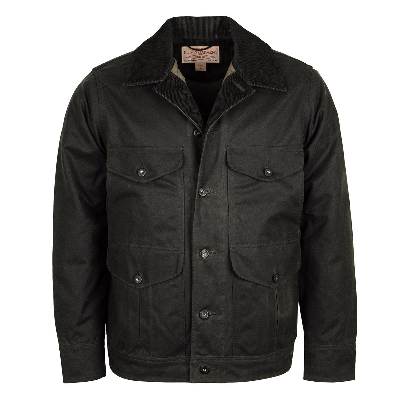 Filson Journeyman Insulated Jacket Charcoal