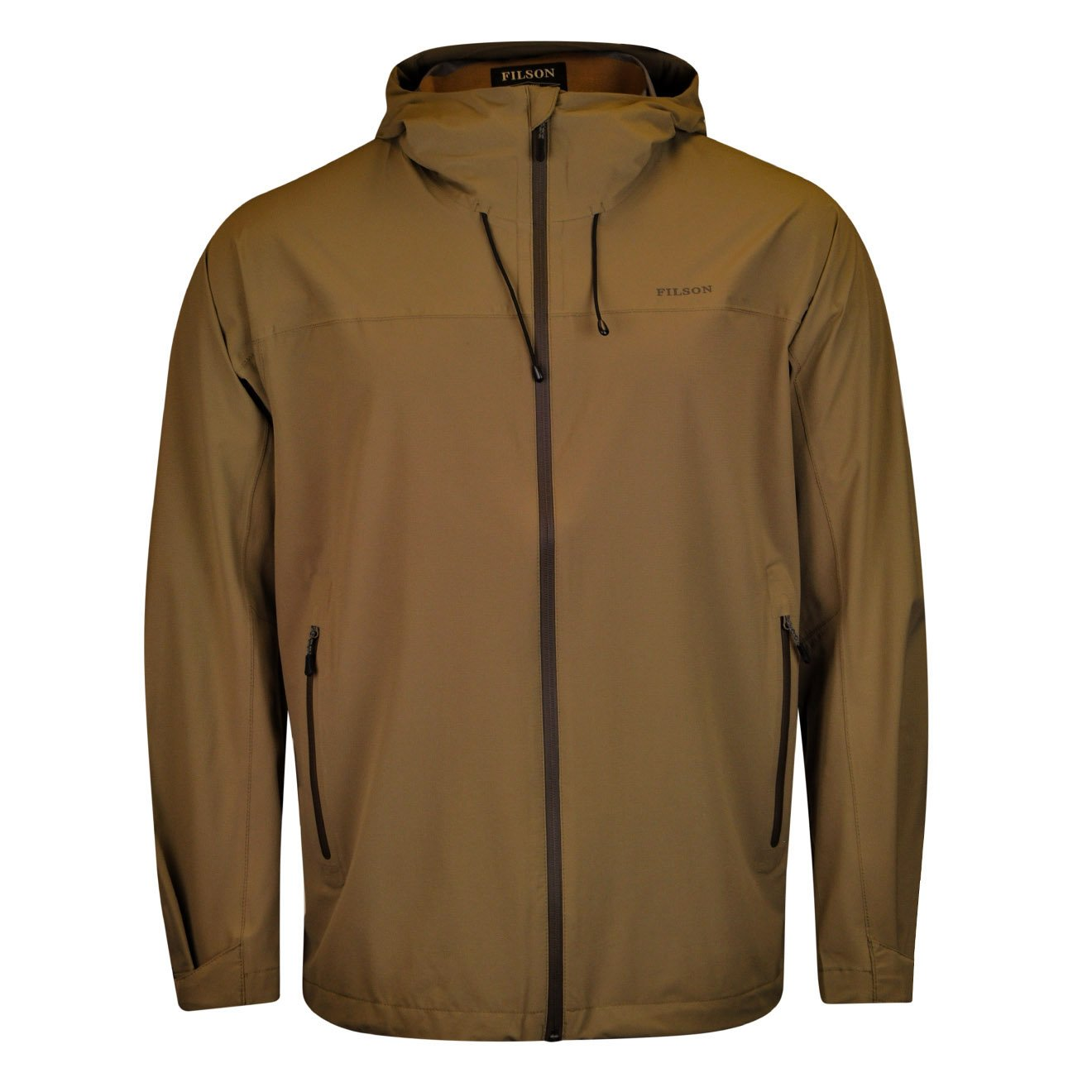 Filson Swiftwater Rain Shell Jacket Rugged Tan