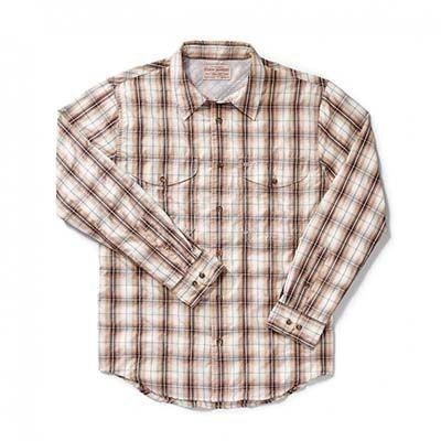 Filson Twin Lakes Sport Shirt Brown Stucco - 16139 - 1