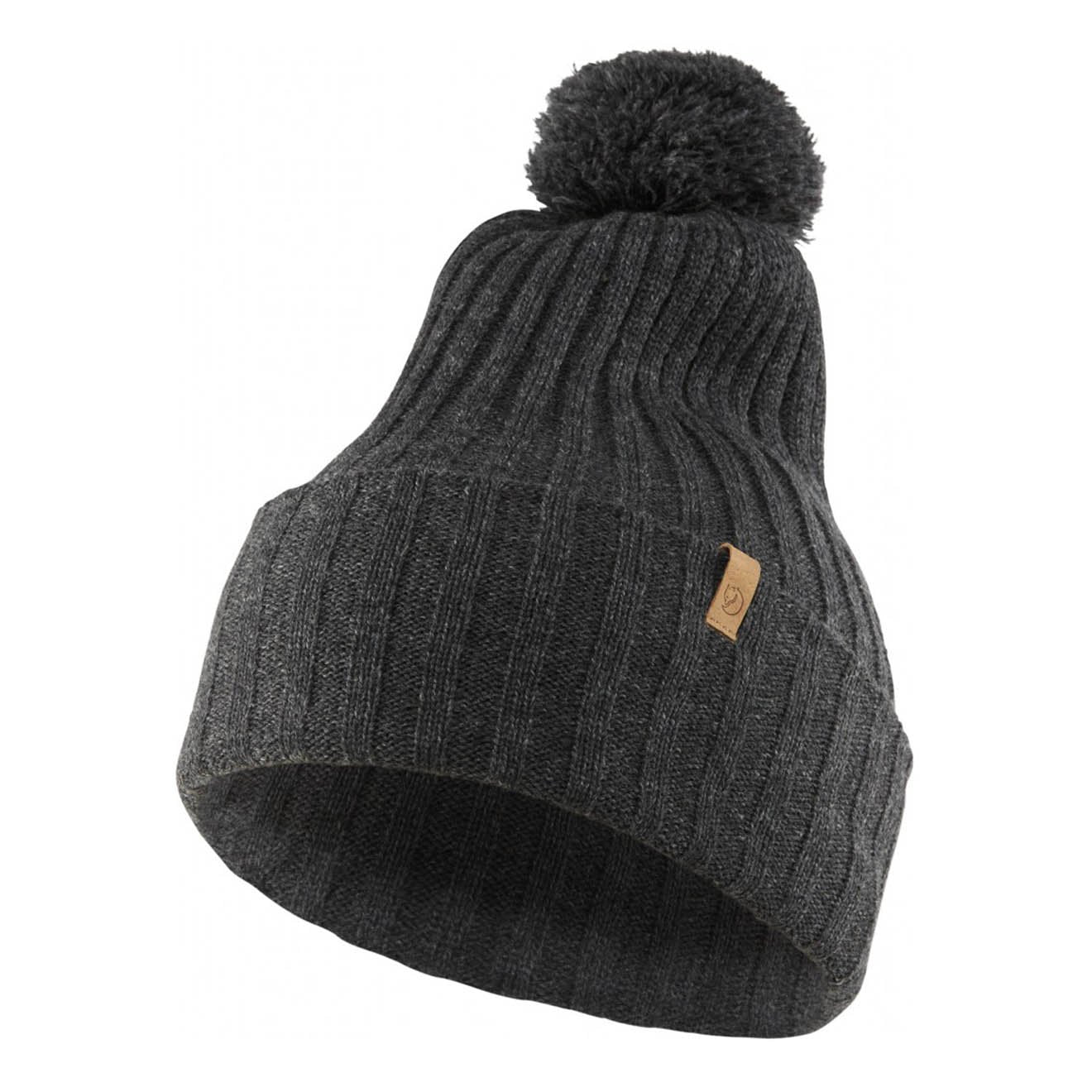 Fjallraven Byron Pom Hat Dark Grey