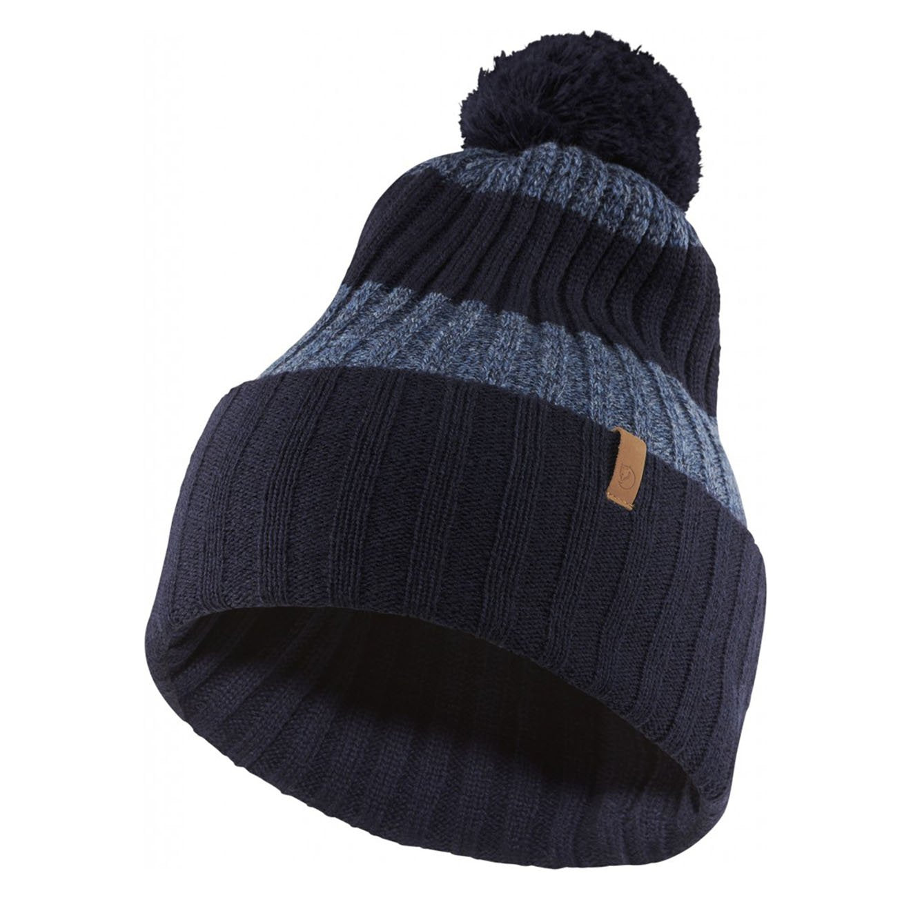 Fjallraven Byron Pom Hat Dark Navy