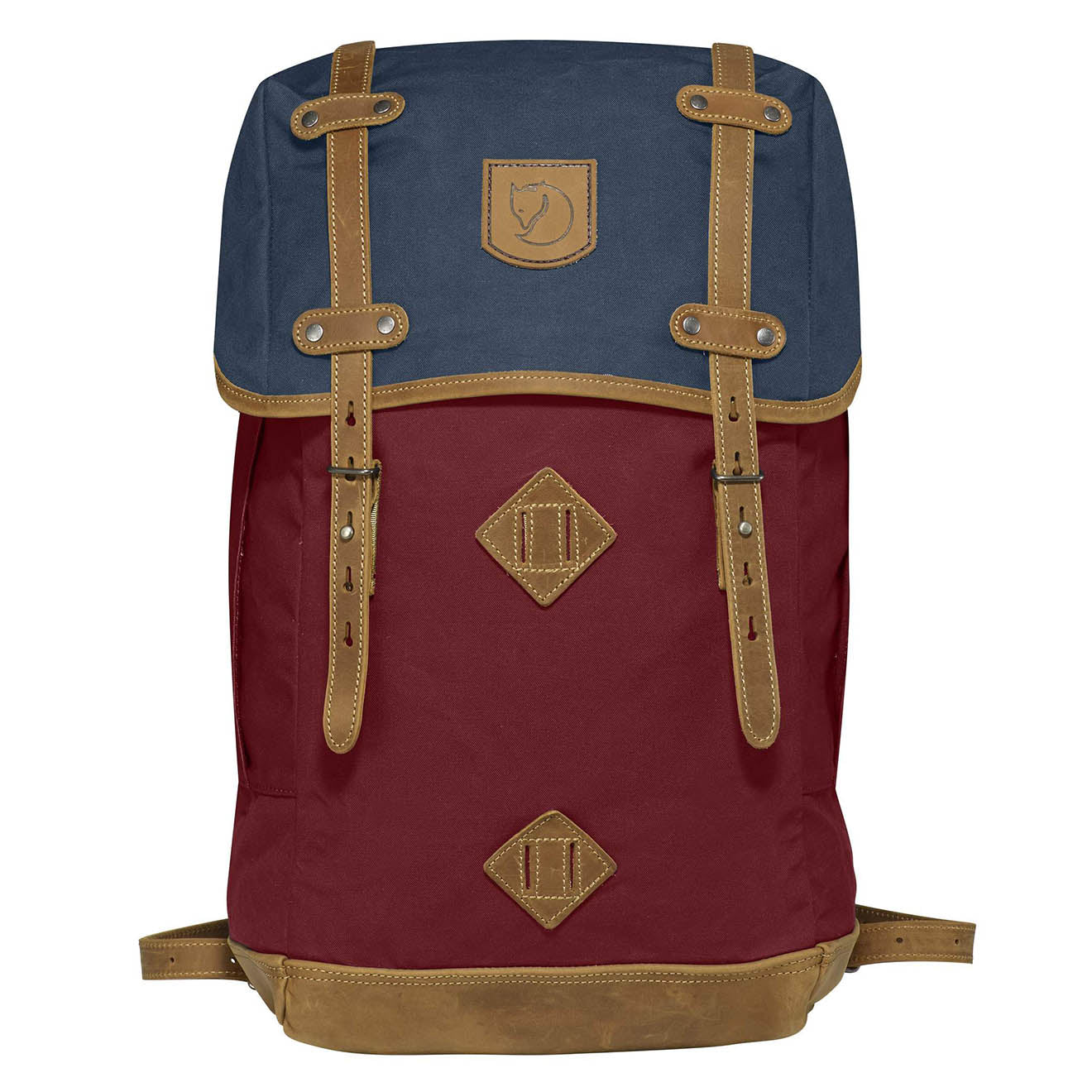 Fjallraven No. 21 Large Backpack Ox Red / Navy
