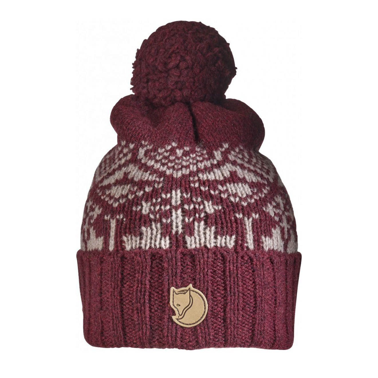 Fjallraven Snow Ball Hat Dark Garnet