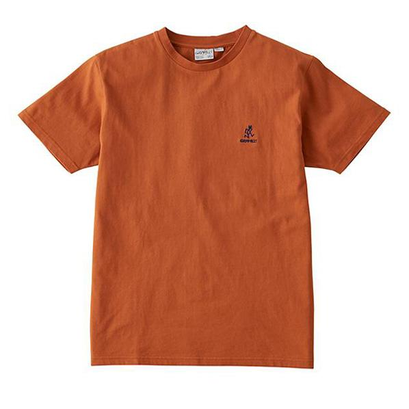 Gramicci-Big-Running-Man-T-Shirt-Orange---1