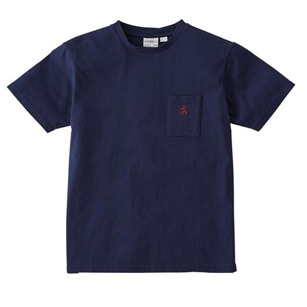 Gramicci-One-Point-T-Shirt-Navy---1