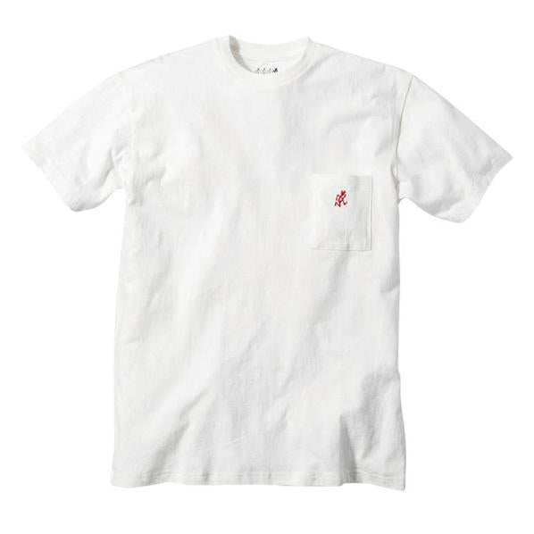 Gramicci One Point T-Shirt White