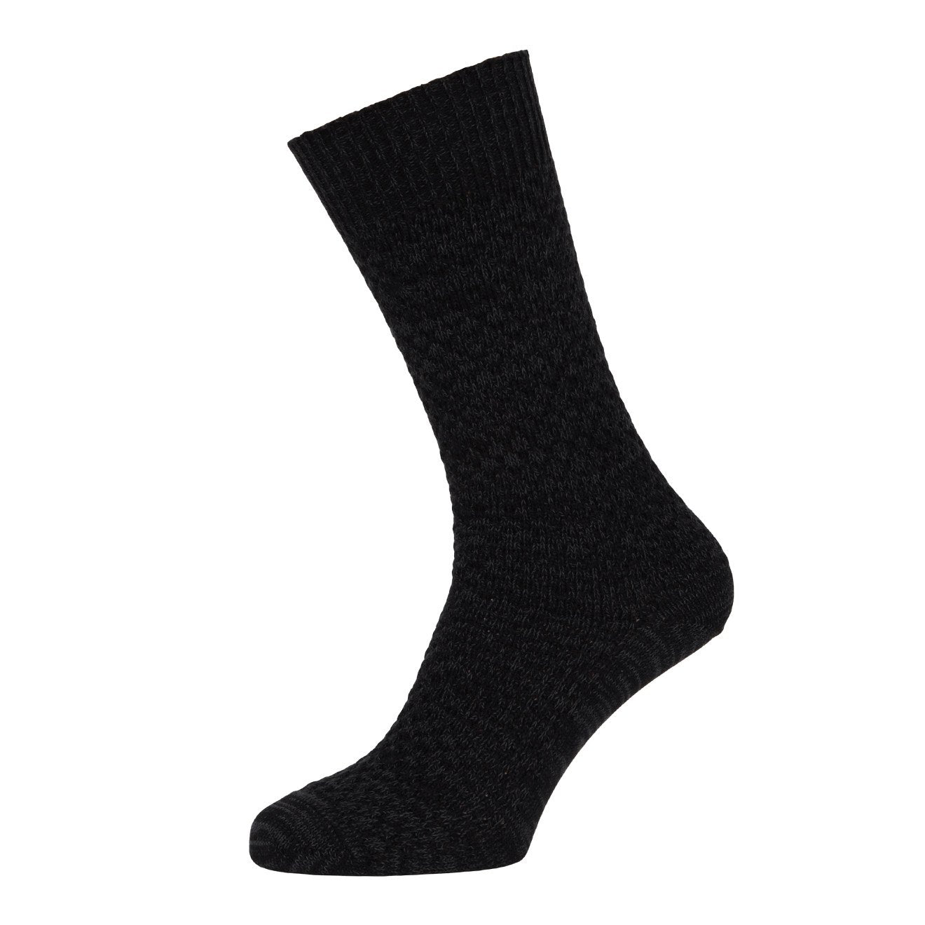 MP Crafted Garments Socks Oscar Black Light Blue