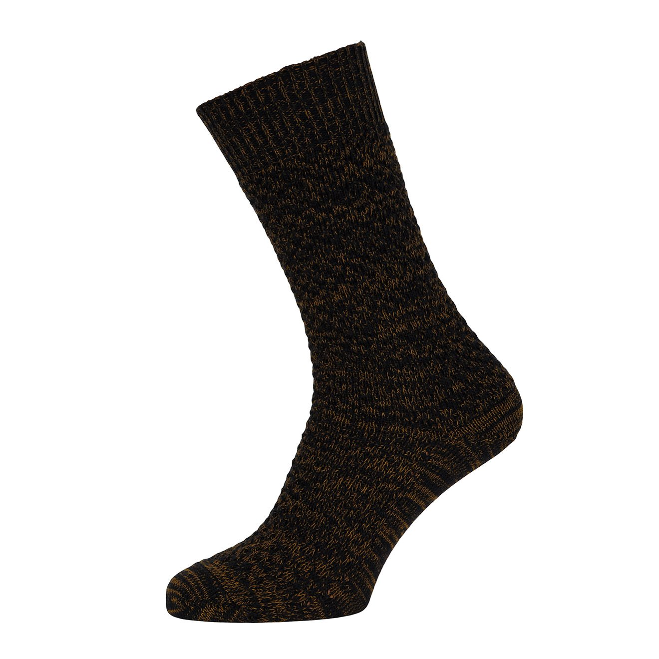MP Crafted Garments Socks Oscar Black Orange