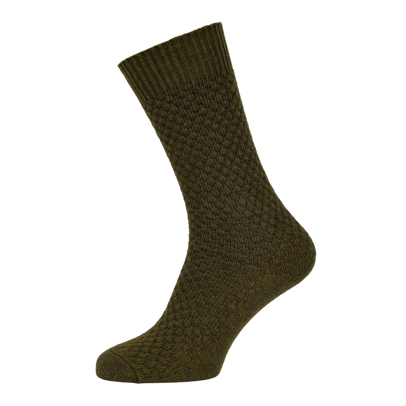 MP Crafted Garments Socks Oscar Military Green