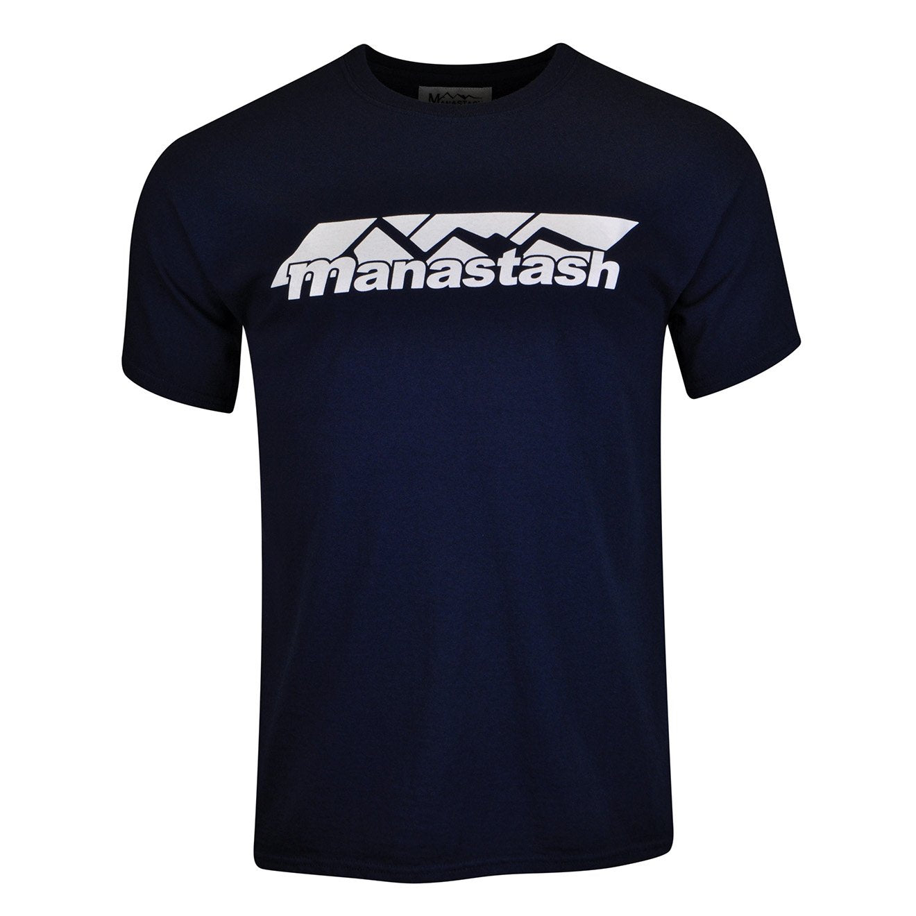 Manastash Mountain Logo T-Shirt Navy