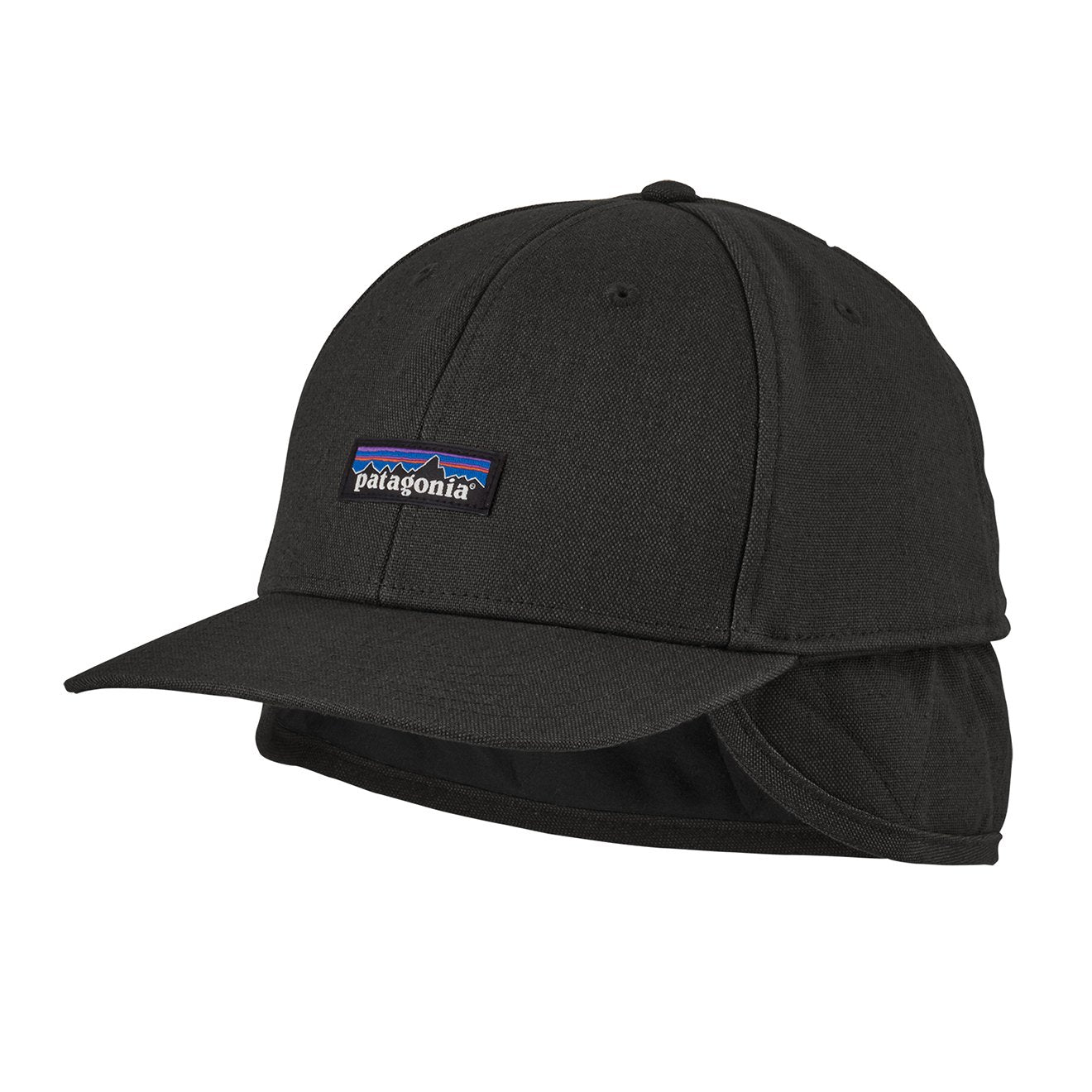 Patagonia Cotton Insulated Tin Shed Cap In Black For Men: Patagonia Insulated Tin Shed Cap Ink Black