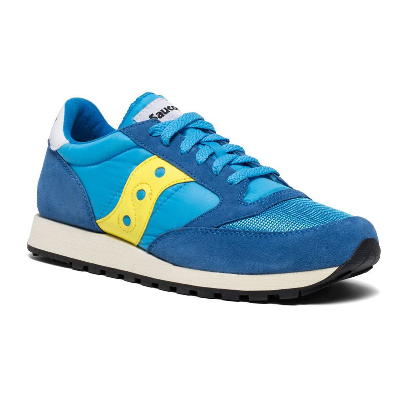 uk availability 38a82 8edba Saucony Jazz Original Vintage Trainers Blue / Yellow - Yards Store