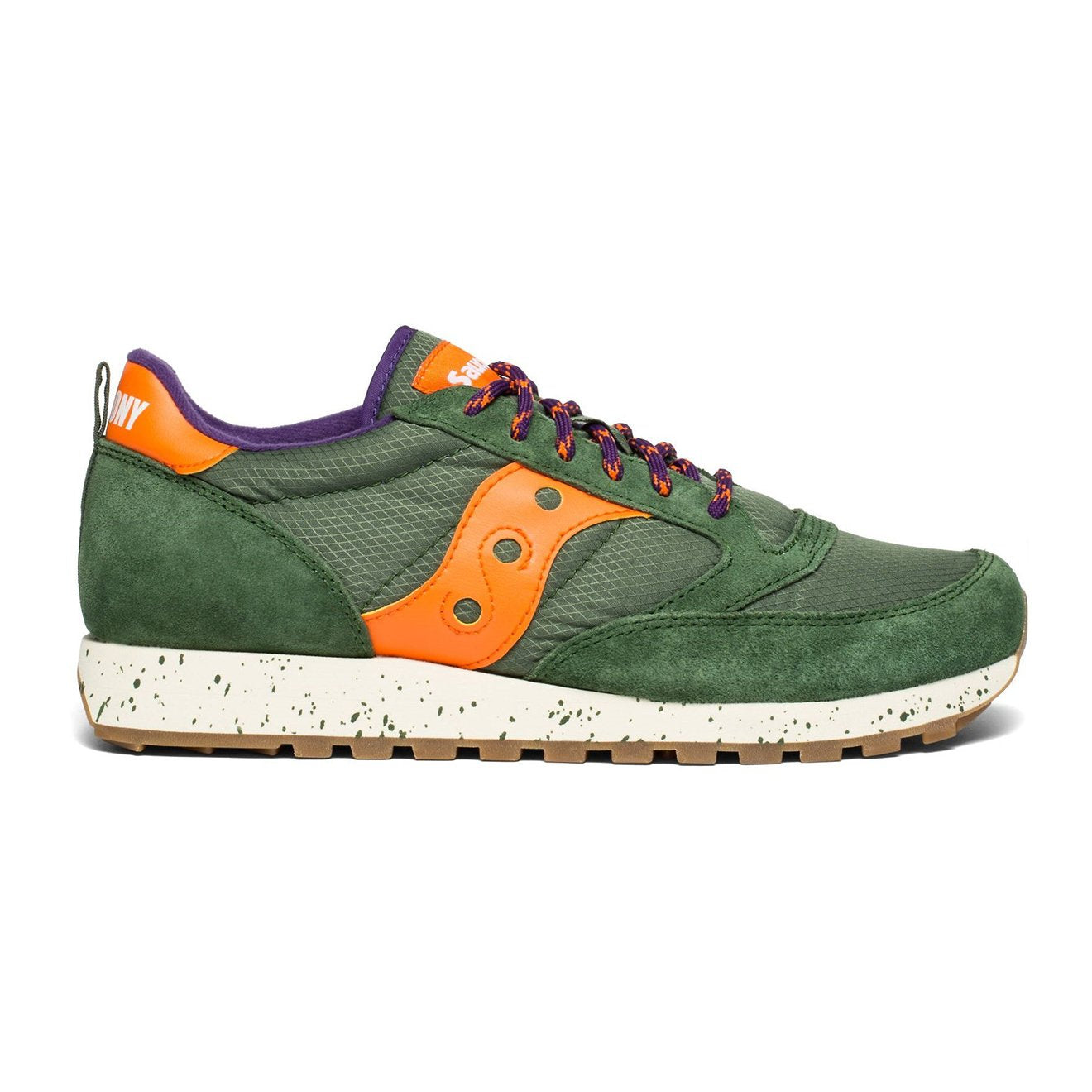 new products ed552 87846 Saucony Jazz Trail Running Trainer Green / Grey / Orange