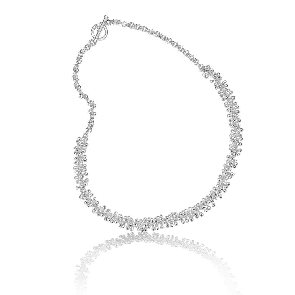 Silver Bobble Necklace