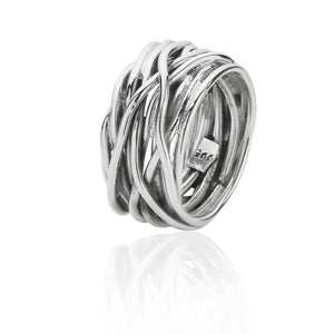 Silver Wrapped Ring
