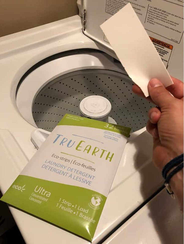 Tru Earth Eco-Strips Laundry Detergent 環保洗衣紙 (Fragrance-free – 32 Loads)