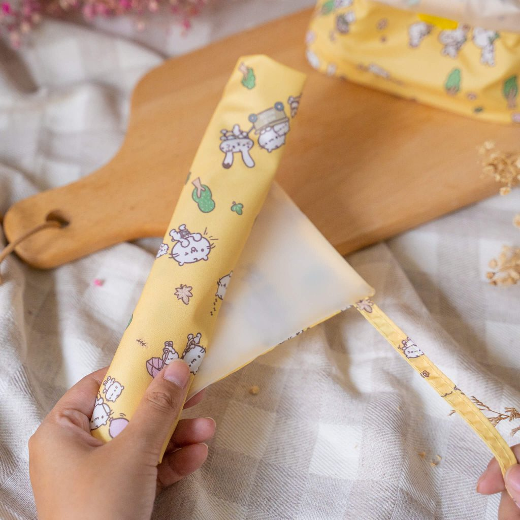 麻吉貓想放假 Maji Meow Vacation (餐具套 Cutlery Wrap)